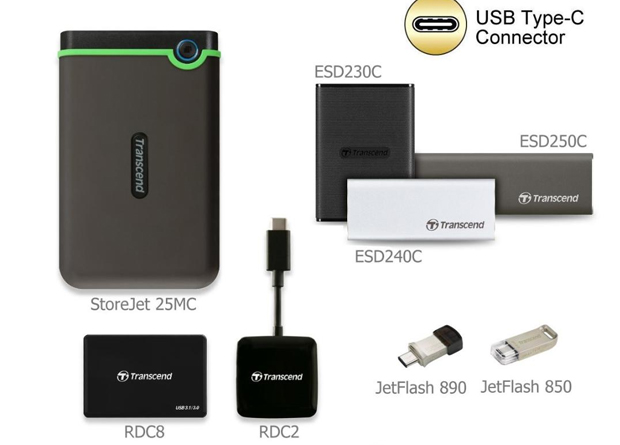 USB Type-C storage solutions from Transcend - Upgrade Magazine